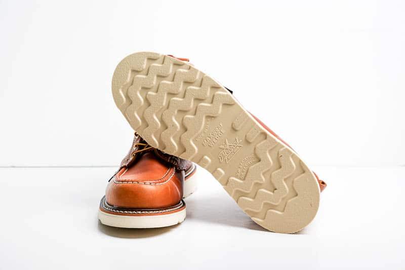 Thorogood white wedge sole