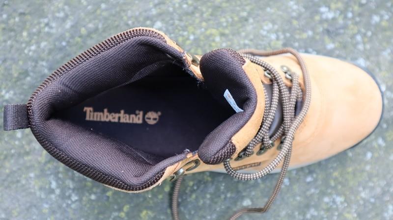 Timberland White Ledges on rock interior shoe