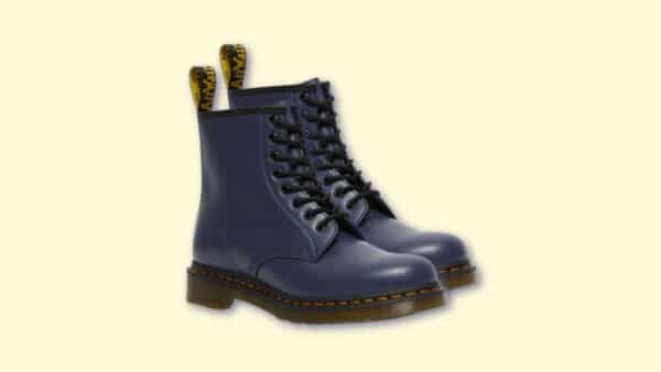 Dr Martens Review Doc Martens 1460 on blank background