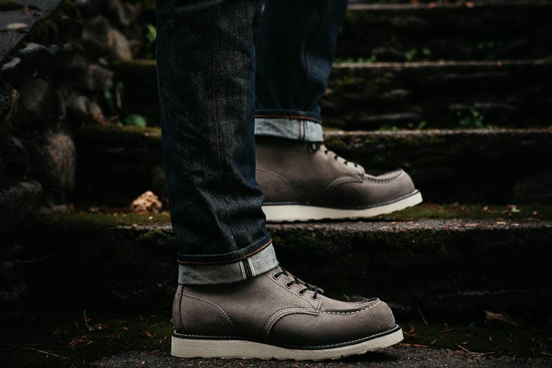 Red Wing Moc Toe