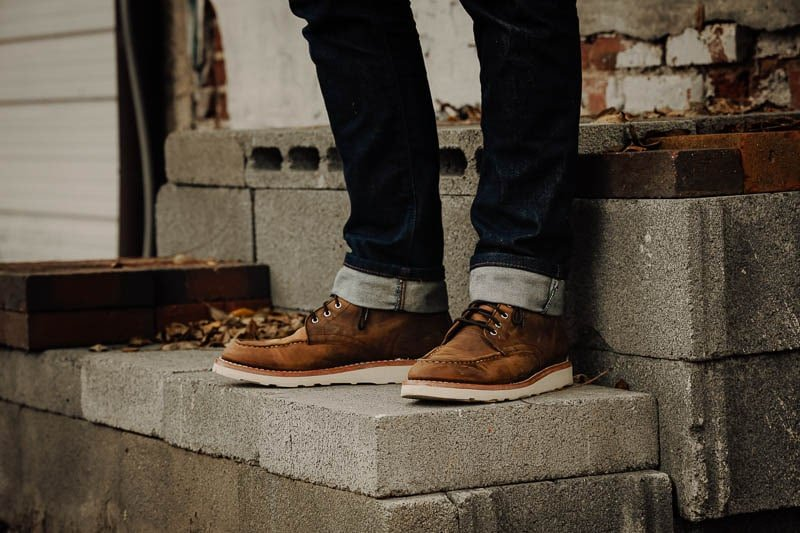 Thursday Diplomat with slim fit jeans