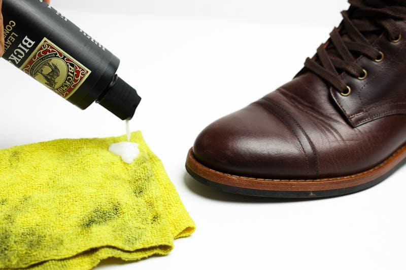 using bick 4 leather conditioner