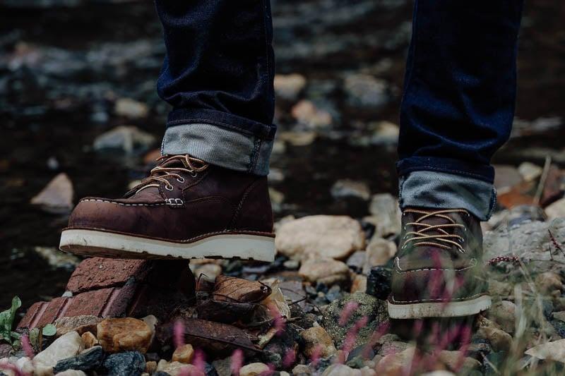 Danner Bull Run boots on brick