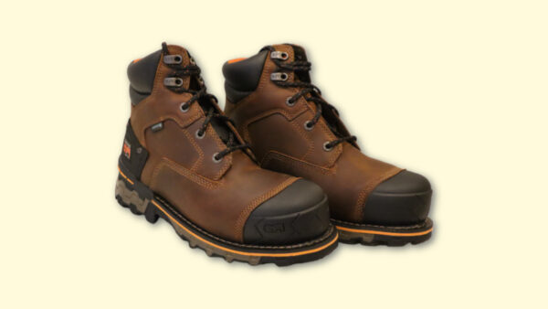 Timberland PRO Boondock Review Timberland PRO Boondocks in Brown Oil Distressed Leather on Blank Background
